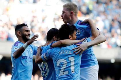 Четыре игрока «Манчестер Сити» попали в сборную тура АПЛ