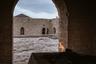 Азербайджан называют Страной огня. На территории Атешгяха издавна наблюдали горение выходящего из-под земли природного газа, поэтому огнепоклонники совершали паломничество в эти места, веря в магические свойства происходящих здесь явлений.  Более столетия назад выход на поверхность горючего газа прекратился из-за землетрясения, и паломники покинули это место. Сейчас постоянное горение огня в алтаре обеспечивает газопровод, неугасающее пламя которого производит впечатление мерцающей свечи.