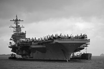 Авианосец ВМС США USS George H.W. Bush