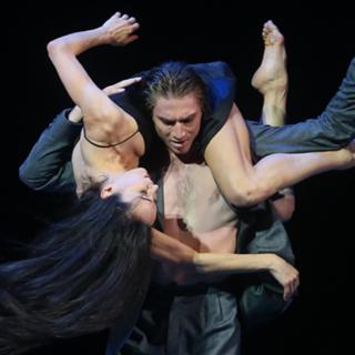Диана Вишнева в роли Татьяны Лариной в сцене из балета «Татьяна»