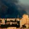 Пожар на складе боеприпасов в Куйбышевском районе Донецка
