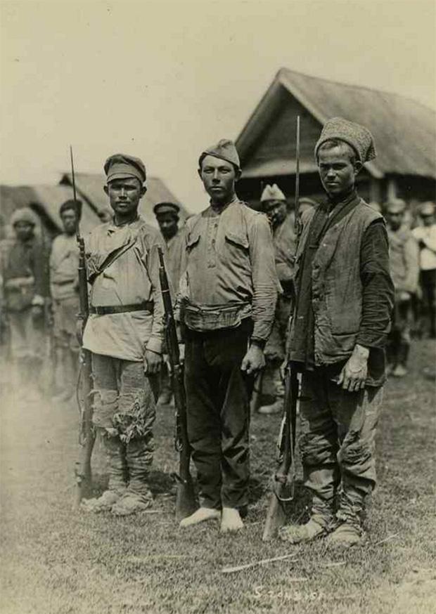Солдаты-колчаковцы, 1919 год