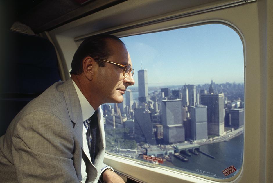 Ширак во время визита в Нью-Йорк
