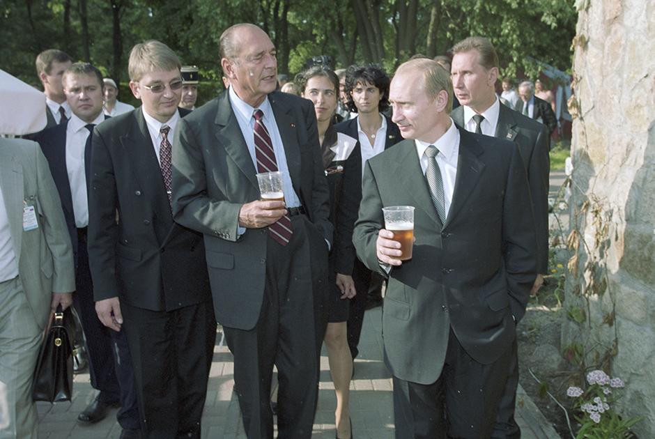 Официальный визит Жака Ширака в Россию, 2001 год