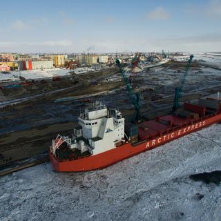 Контейнеровоз ледового класса Arctic Express