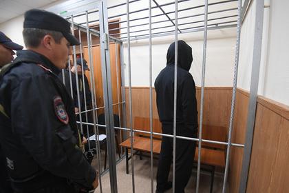 Олег Медведев (Шишкан) в зале заседаний Басманного суда города Москвы