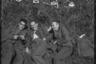Сотрудники тайной полевой полицииТретьего рейха отдыхают на траве. Западная Украина, 1941-1942 годы.