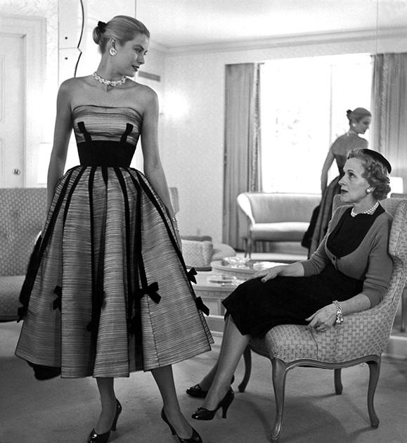 Грейс и ее мама Маргарет в начале 1950-х годов, когда Келли делала свои первые шаги в Голливуде