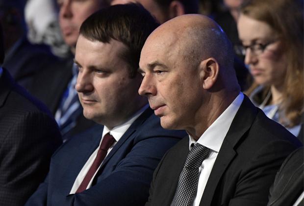 Максим Орешкин и Антон Силуанов