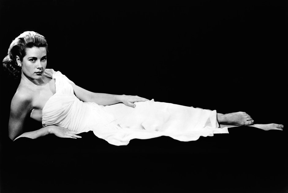 Грейс Келли незадолго до завершения карьеры актрисы в 1956 году