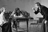 Первым спектаклем, поставленным Захаровым в «Ленкоме» (тогда — Театре им. Ленинского комсомола), был «Тиль Уленшпигель» с Караченцовым и Чуриковой — и уже через год билетов в театр, успевший после увольнения Анатолия Эфроса шестью годами ранее растерять аудиторию, было почти не достать. Вскоре проявилась и магистральная линия захаровских постановок — ставка на музыкальность и эффектность сценического действа в сочетании с подрывным эзоповским языком.