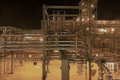 В США опубликовали видео удара по саудовским нефтяным объектам