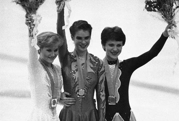 Олимпийские игры-1984. Кира Иванова (справа)