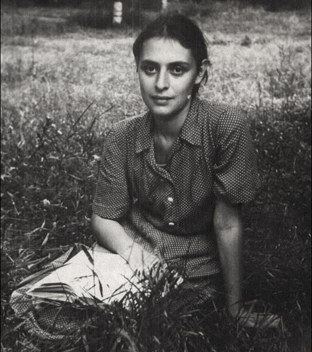 Сусанна Печуро. Потьма, Дубравлаг, Мордовия, 1955 год