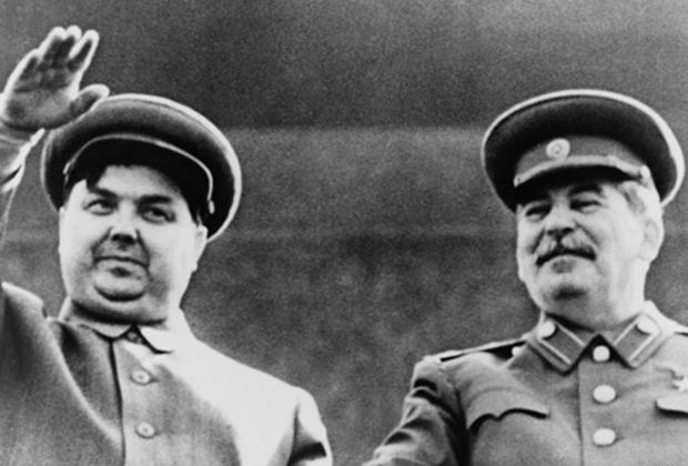 Георгий Маленков и Иосиф Сталин