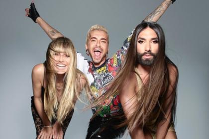 46-летняя бывшая супермодель запустит шоу трансвеститов вместе с Кончитой Вурст