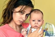 Сережа Сухинин с мамой