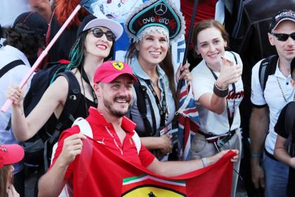 Сочи, матрешка и «Формула-1»: что творилось на российском этапе главных гонок планеты