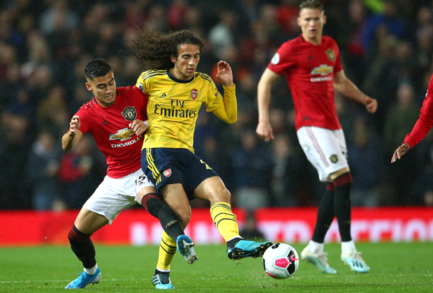 Матч «Манчестер Юнайтед» — «Арсенал»