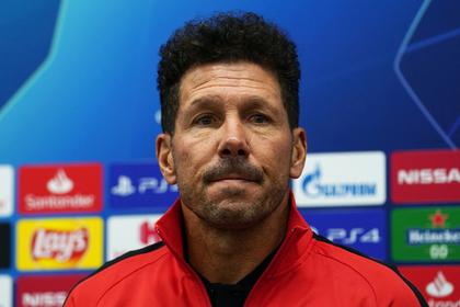 Тренер «Атлетико» назвал опасность «Локомотива» перед матчем Лиги чемпионов