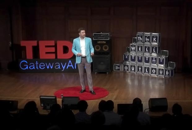 Даг Линдсей выступает на конференции TED Talks