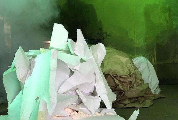 Инсталляция Microcosm художника Филиппа Кена