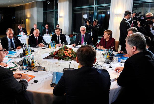 Встреча в «нормандском формате» в октябре 2016