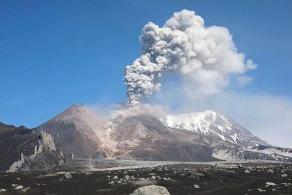 Вулкан на Камчатке выпустил девятикилометровый столб пепла