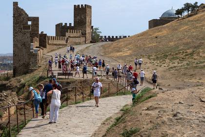 Иностранные туристы полюбили Крым