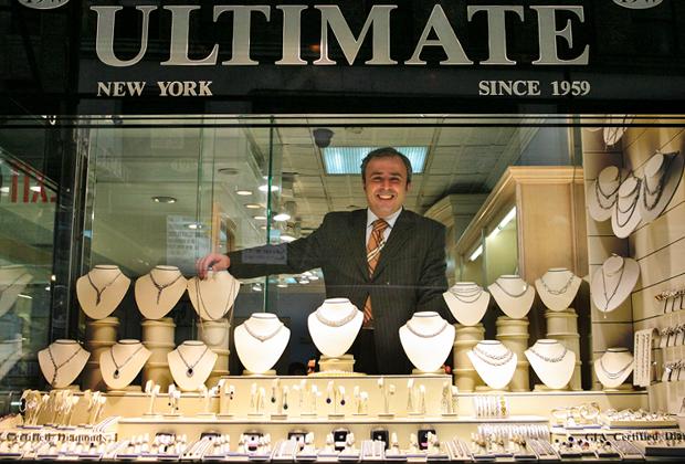 Магазин Ultimate Jewelry Designs на 47-й улице