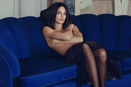 «Единственная красавица в семье Кардашьян» снялась в рекламе топлес
