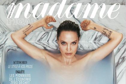 Анджелина Джоли снялась голой для обложки модного журнала