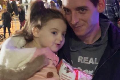 Колстон Хьюгс и его дочь Холли