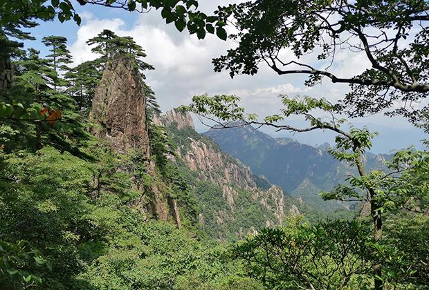 Вид с гор Хуаншань