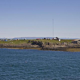 Вид на остров Флатей