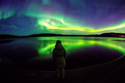 В России начался сезон северного сияния: репортаж из Instagram