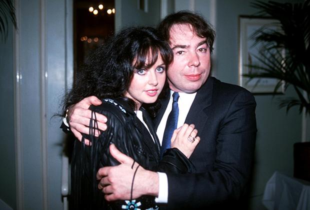 Декабрь 1985 года. Сара Брайтман и Эндрю Ллойд-Уэббер перед премьерой «Отверженных» в Лондоне