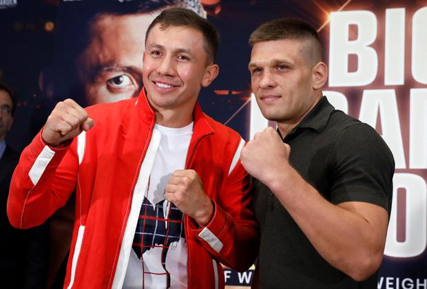 Геннадий Головкин и Сергей Деревянченко