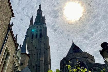 Аномальное небо на снимке туриста поразило пользователей сети