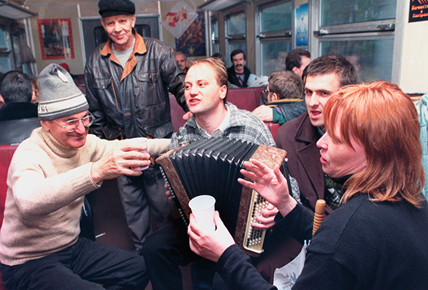 Поклонники писателя Венедикта Ерофеева отмечают 60-летие со дня его рождения, 1998