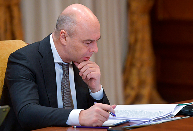 First Deputy Prime Minister and Minister of Finance Anton Siluanov