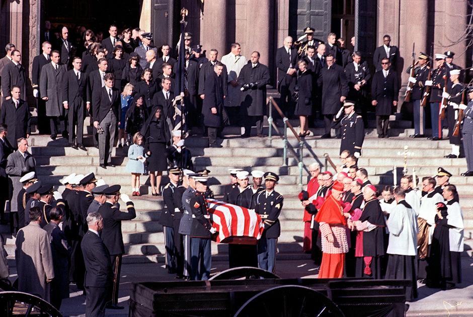Похороны Джона Кеннеди 25 ноября 1963 года