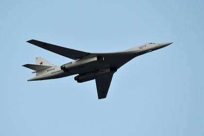 Бомбардировщик-ракетоносец Ту-160 «Владимир Судец» Военно-космических сил России