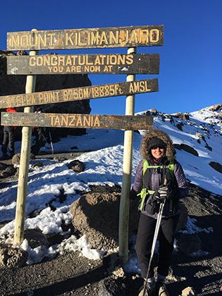 Восхождение на Килиманджаро.