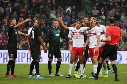 «Спартак» проиграл пятый матч РПЛ подряд