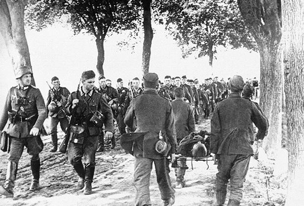 Передовые части вермахта на территории Польши. 6 сентября 1939 года