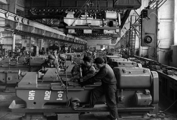 Кусонский станкостроительный завод в 1965 году