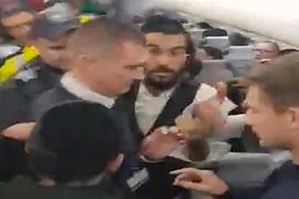 Ортодоксальные евреи устроили дебош в аэропорту Кишинева и оказались под арестом