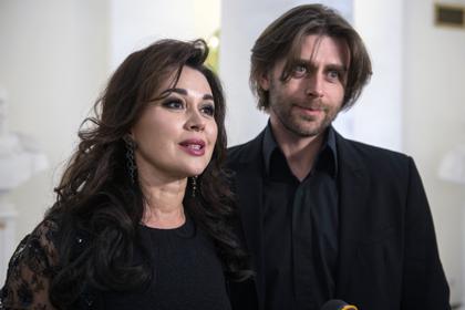 Анастасия Заворотнюк с мужем