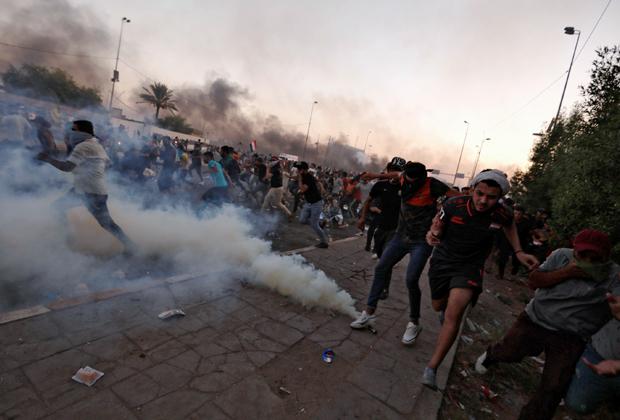 Протесты в Багдаде 5 октября